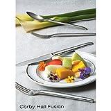 Corby Hall 4301 Fusion European Oval Bowl Spoon - Dozen