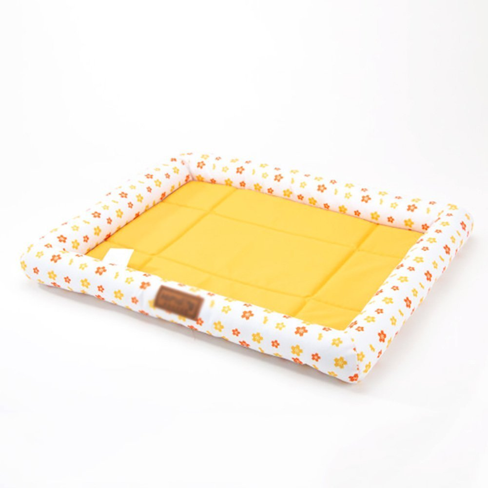 nuovi prodotti novità Happy- little little little -bear Summer Cat Mat Pet Mat Dog Cushion Bite Resistant Kennel Scratch Resistant (Taglia  XL)  spedizione e scambi gratuiti.