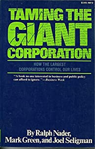Taming the giant corporation by Norton