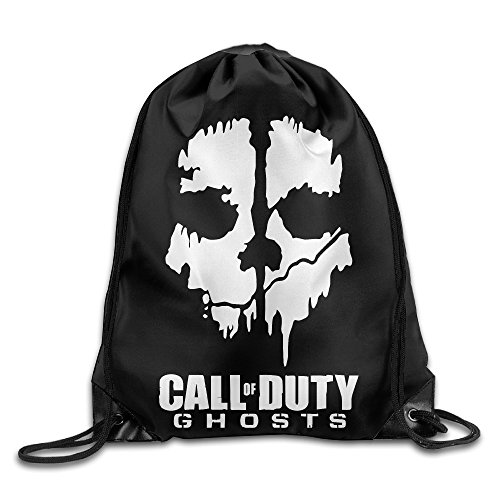 Creative Design Call Of Duty Ghosts Drawstring Backpack Sport Bag For Men And Women
