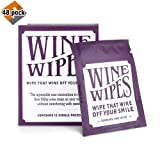 True Wine Stain Removing Wipes 2-inch