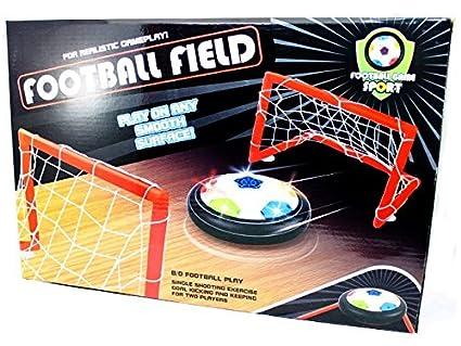 Flashing Air Soccer Air Table Futbol Kit De Juego De Mesa Balon