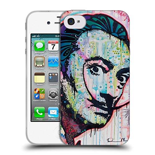 Officiel Dean Russo Dali Iconique Étui Coque en Gel molle pour Apple iPhone 4 / 4S