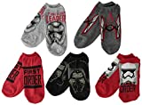 5 pairs of Boys Star Wars Episode 7 themed no show socks