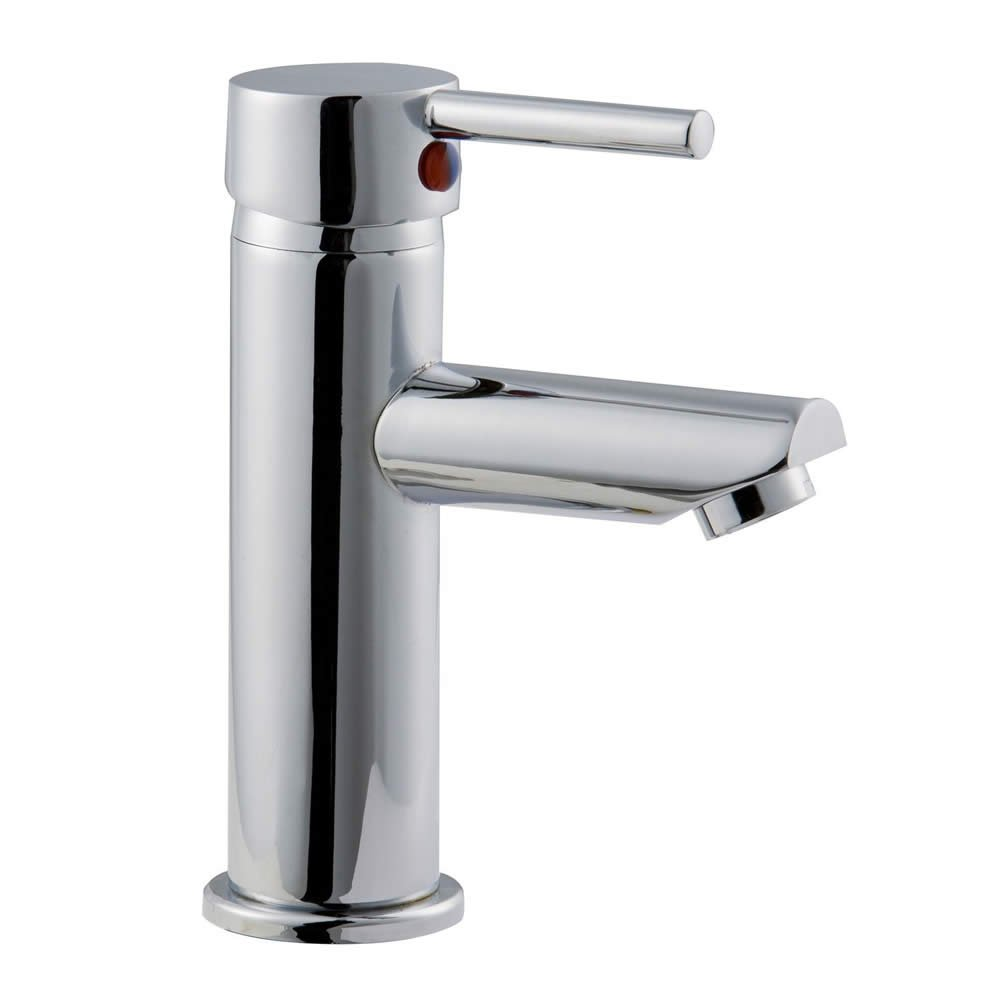 750mm vanity units for bathroom - Trueshopping Bathroom Single Lever Mono Basin Mixer Tap High Quality Brass With Modern Chrome Finish By
