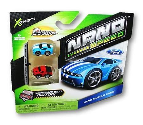 Amazon.com: Xconcepts Nano Sd Pull-Back Micro Vehicles, 2-ct ...