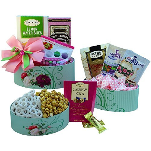 Art of Appreciation Gift Baskets Fanciful Flavors Gourmet Tea and Snacks Tower by Art of Appreciation Gift Baskets (Fanciful Baskets)