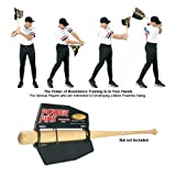 Baseball/Softball Bat Air Resistance Power Fin Swing Trainer (Replace Bat Weights that Harm Swings)