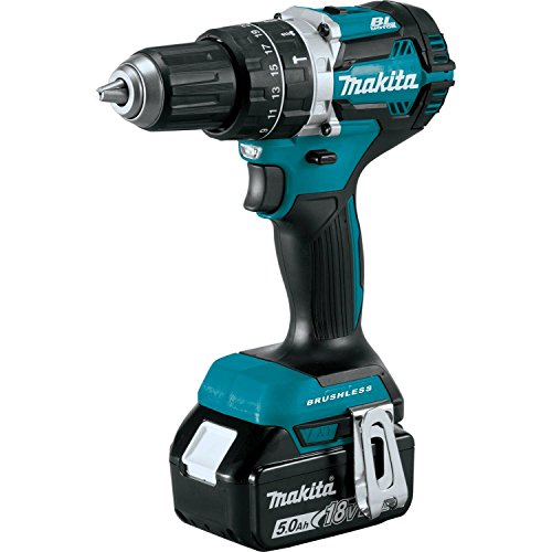 "Makita XPH12T 18V LXT Lithium-Ion Compact Brushless Cordless 1/2"" Hammer Driver-Drill Kit"