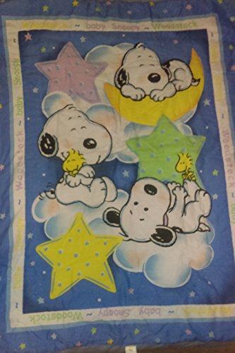 EXTREMELY RARE! Peanuts Baby Snoopy Quilt (Snoopy Musical Mobile)