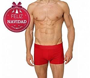 Boxer de nochevieja para hombre dasher color rojo ropa interior masculina l hogar - Amazon ropa interior hombre ...