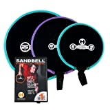 Hyperwear Elements of SandBell Exercise Training DVD with 3 SandBell Weights (43 lbs Capacity)