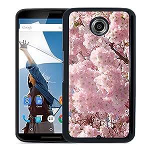 Unique DIY Designed Cover Case For Google Nexus 6 With Cherry Blossoms Flower Mobile Wallpaper 1 Phone Case