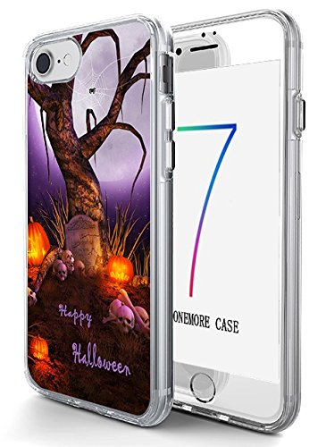 iPhone 7 Hard Shell Case 4.7 Inch Ultra Slim Thin Scary (Scary Quotes For Halloween)