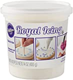 Wilton 710-1768 Ready to Use White Royal Icing, 14 Oz.