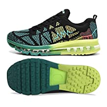 L-RUN Men's Running Shoes Outdoor Casual Air Cushion Sneakers for Gym Walking