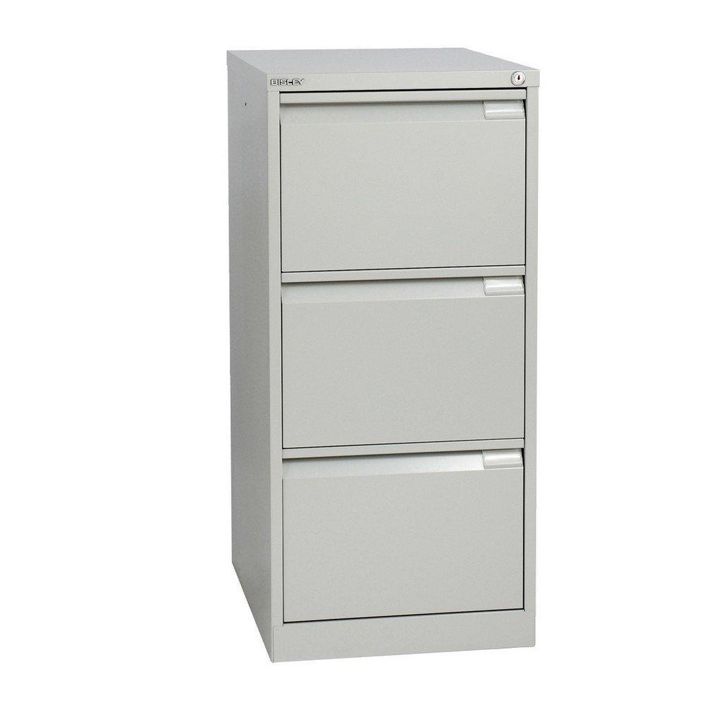 Bisley - Mueble archivador con 3 cajones, Bisley: Amazon.es: Oficina y papelería