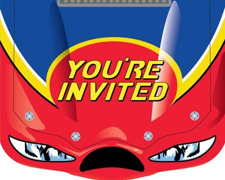 Start Your Engines Party Invitations ()