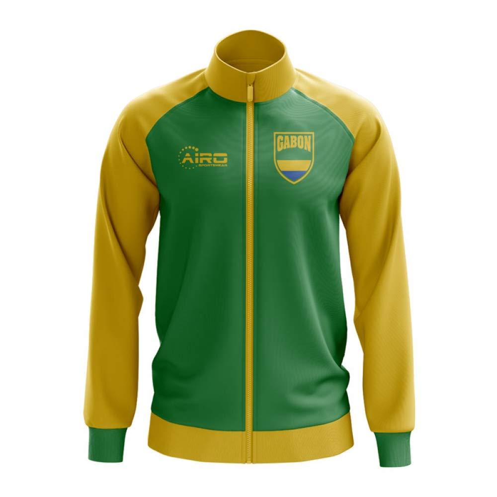 Airo Sportswear Gabon Gabon Sportswear Concept Football Track Jacket (Grün)  091bc1 3fc1f0acaf