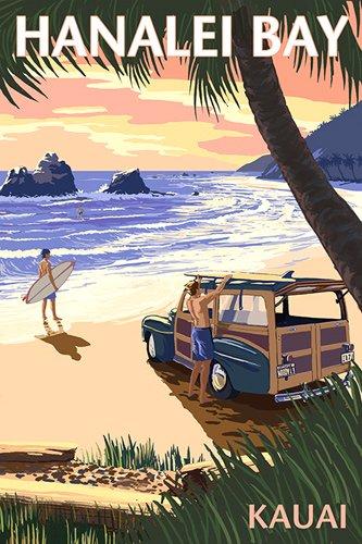 Surf Outer Banks North Carolina Vintage Style Travel Decal sticker