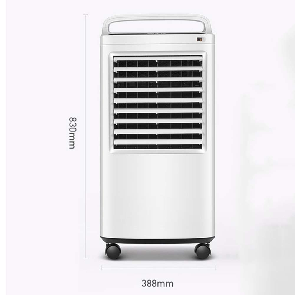 Desktop Fan Home Fan Mobile Air Conditioners Air Cooler Air Conditioner Fan Evaporative Humidifier Air Purifier Air Freshener Household Small-scale Mobile Soft Wind Table Desk Fan for Home and Travel by Gelaiken (Image #2)