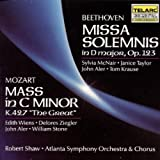 Beethoven: Missa Solemnis & Mozart: Great Mass In C Minor (2 CD) by Shaw/ASO (1990-10-25)