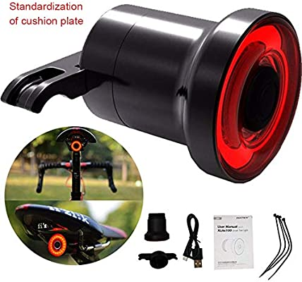 caojianwei luz Trasera de la Bicicleta luz Trasera Inteligente de ...