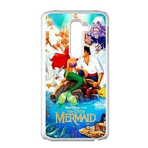 LG G2 Cell Phone Case White The Little Mermaid