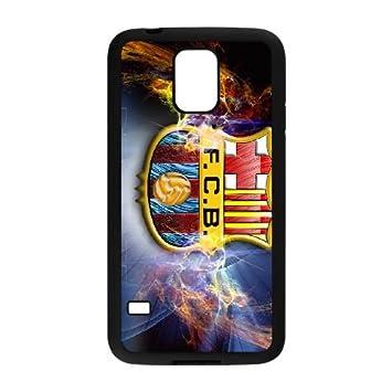 Fc Barcelona 003 funda Samsung Galaxy S5 Negro de la ...