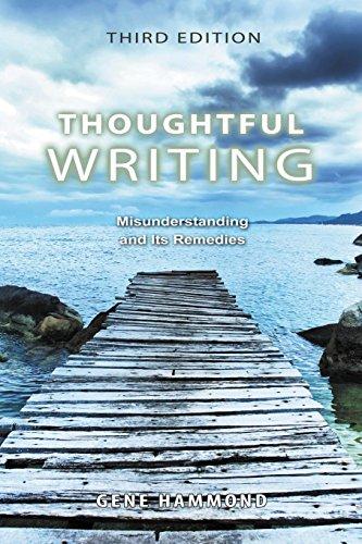 Thoughtful Writing [HAMMOND  EUGENE] (Tapa Blanda)