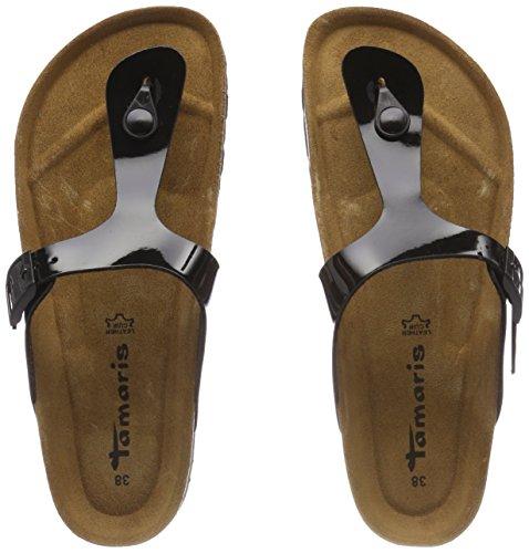 Black Mules Patent Femme Noir Tamaris 27537 zOHIWwq5nZ