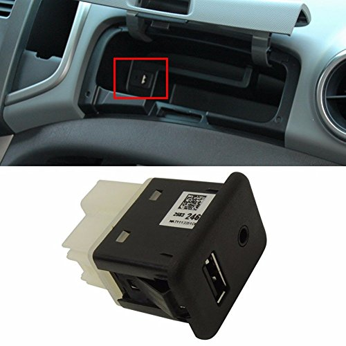 Price comparison product image AUX USB Socket Receptacle For GM Chevrolet Sonic 2012+ OEM Parts