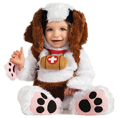 [St. Bernard Costume - Baby 12-18] (St Bernard Baby Costumes)
