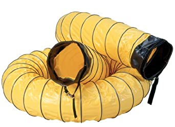 "Air Systems SVH-6 8"" Diameter 6' Standard Vinyl Hose Duct"