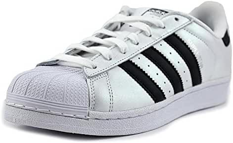 Adidas Superstar Men US 7.5 White Skate Shoe