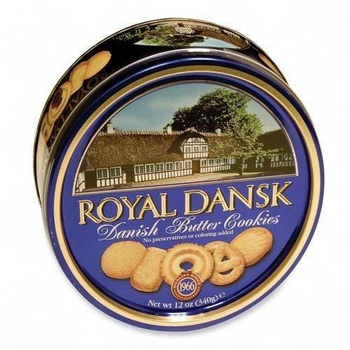 Advantus Corp. Advantus Corp. Danish Butter Cookies, Reusable Tin, 12 oz -