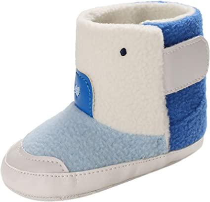 Winter Toddler Infant Newborn Baby Girls Boys Warm Shoes First Walkers Booties