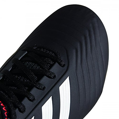 adidas Predator 18.3 FG J, Zapatillas de Gimnasia Unisex Niños Negro (Negbas / Ftwbla / Rojsol 000)
