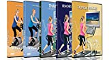 DVD Beach Combo Pack - Scenic Virtual Walks and Cycle Videos of Beaches from Australia, Spain and Thailand - For Indoor Walking, Treadmill and Cycling Workouts