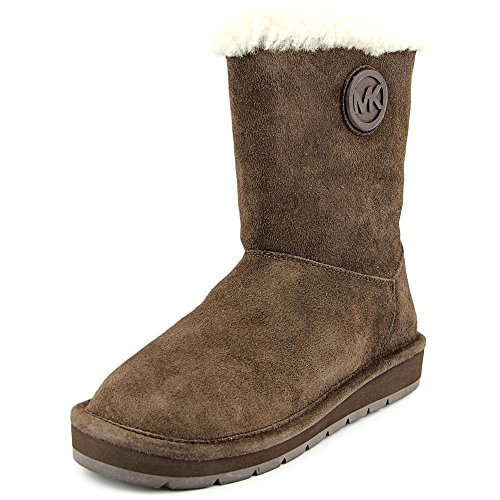 MICHAEL Michael Kors Womens Winter Mid Boot, 8, Coffee