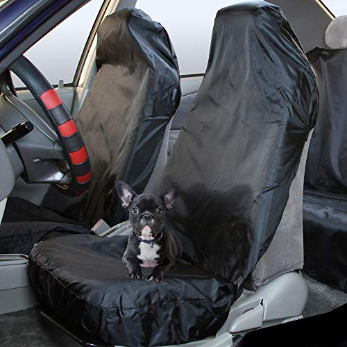 FH Group Car Seat pet Protector FB110BLACK102 Pet Car Seat Cover for Cars, Trucks, and SUVs Waterproof Pet Protector
