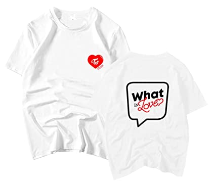 30cf23407 Amazon.com: Twice What is Love Fan's Support T-Shirt: Clothing