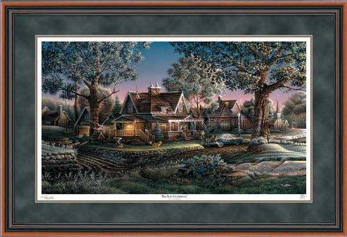 His First Graduation Framed Limited Edition Print by Terry Redlin
