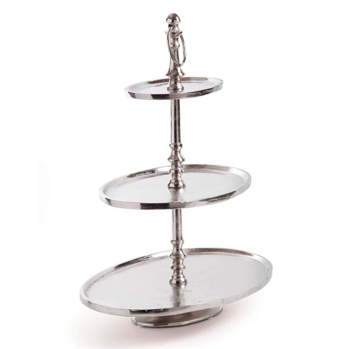 Halston 3 Tier Oval Tray