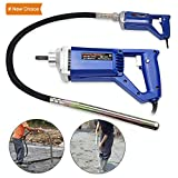 Hand Held Concrete Vibrator 1 HP 750W Electric Vibrator 13000 Vibrations per Minute