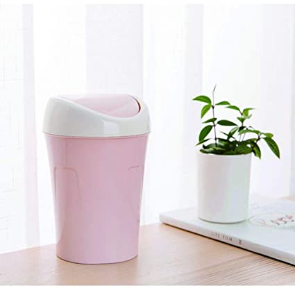 Fochutech Car Auto Garbage Trash Can Automotive Waste Storage Office Home Rubbish Bin for Vehicle Cup Holder Door Plastic Gray