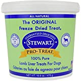 Pro-Treat Stewart Freeze Dried Lamb Liver Dog Treats, 1 Pack