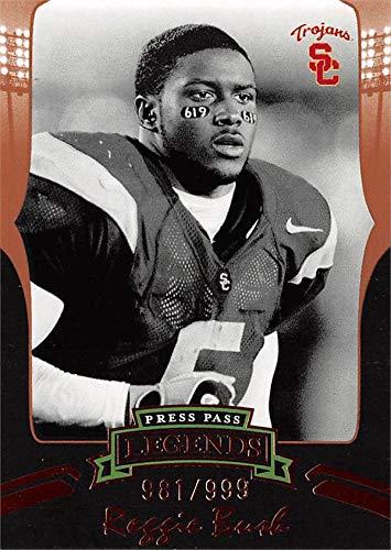Reggie Bush football card (USC Trojans) 2006 Press Pass Legends Rookie #B47