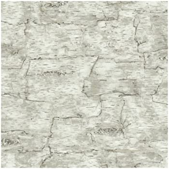 York Wallcoverings Lake Forest Lodge Birch Bark Removable