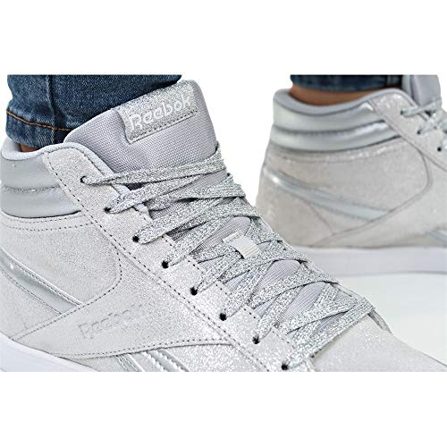 Silver Fitness White Lgh Reebok Women's Multicolour Solid Royal Aspire Metallic 2 Shoes Grey 000 Izwrxz0nvq